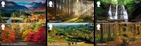 England - Skove - Postfrisk sæt 6v