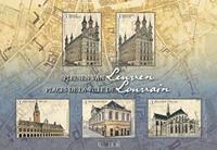 Belgique - Places centrales à Louvain - Bloc-feuillet neuf