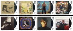 England - Elton John - Postfrisk sæt 8v