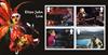 England - Elton John - Postfrisk miniark