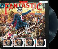 Grande-Bretagne - Elton John Captain Fantastic - Feuille neuve, tirage 7500