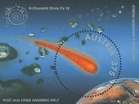 Autriche - Météorite - Bloc-feuillet neuf