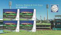 Australien - Sydney Frimærkeudstillingsminiark - Postfrisk miniark