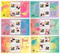 Christmas Islands - Wuhan frimærkeudstilling 2019 - Postfrisk miniark