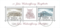 Østrig - Statsoperaen - Stemplet miniark