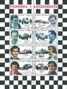 Autriche - Formule 1, légendes - Série de feuilles obl.