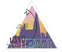 Østrig - WIPA Stephan Domkirken - Stemplet frimærke