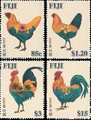 Fiji - Hanens år - Postfrisk sæt 4v