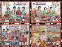 Fiji - National Womens EXPO - Postfrisk sæt 4v