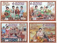 Îles Fidji - Exposition nationale des femmes - Série neuve 4v