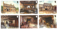 Jersey - Hamptonne, Jersey Architecture - Mint set 6v