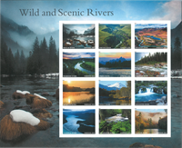 United States - Wild and Scenic Rivers * - Mint stamp