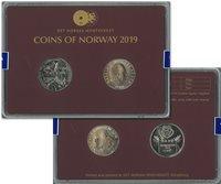 Norge klassisk møntsæt 2019