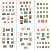 Divers pays - Collection dans un album Leuchtturm