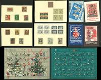 Danemark - Collection de vignettes de Noël