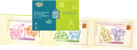 Hong Kong - Udstillingsminiark i mappe 2015 - Postfrisk folde-ud miniark