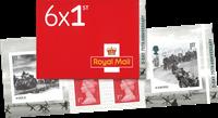 England - D-Dagen - Postfrisk frimærkehæfte