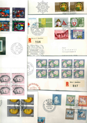 UN Switzerland - Duplicate lot - First Day covers