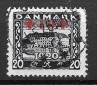 Denemarken  - AFA 121 - Gebruikt