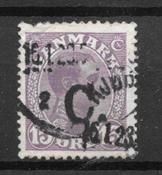 Danemark  - AFA 70z - Oblitéré