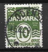 Danmark  - AFA 124y - Stemplet