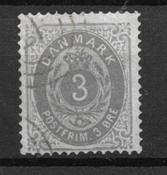 Danmark  - AFA 22by - Stemplet