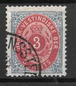 Deens-West-Indië  - AFA 6 y - Gebruikt