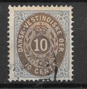 Deens-West-Indië  - AFA 11 - Gebruikt