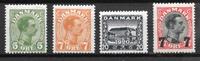Denemarken  - AFA  4 diverse - Postfris