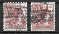 Allemagne 1948 - AFA 30-30a - Oblitéré