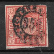 Bayern 1861 - AFA 14 - Gebruikt