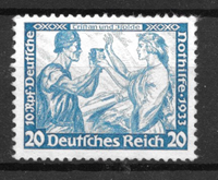 Tyske Rige 1933 - AFA 500 - postfrisk