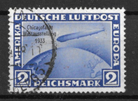 Tyske Rige 1933 - AFA 492 - Stemplet