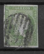 Spanien 1855 - AFA 31 - Stemplet