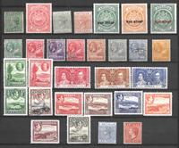 British colonies 1900 - Unused/cancelled