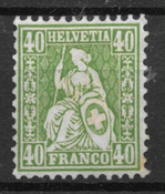 Suisse 1862 - AFA 39 - Neuf avec charniere