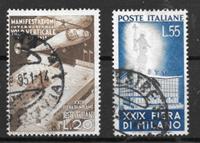 Italie 1951 - AFA 749-750 - Oblitéré