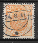Suède 1910 - AFA 69 Om/Vm - Oblitéré