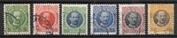Deens-West-Indië 1907 - 6 stk diverse - Gebruikt