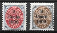 Deens-West-Indië 1902 - AFA 20y+21 - Postfris