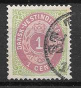 Deens-West-Indië 1873 - AFA 5a - Gebruikt