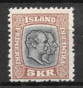 Islande 1907 - AFA 62 - Neuf