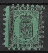 Finland 1866 - AFA 6A - Ubrugt