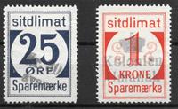 Grønland  - 25 øre+1 kr - Stemplet