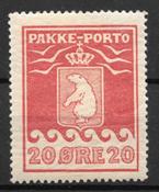 Grønland 1915 - PP 9I - Ubrugt