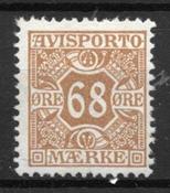 Danemark 1907 - Av. 7 - Neuf