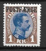 Danemark 1924 - PF 8 - Neuf avec charniere