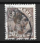 Danemark 1921 - AFA 125x - Oblitéré