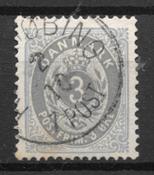Danemark 1875 - AFA 22a - Oblitéré