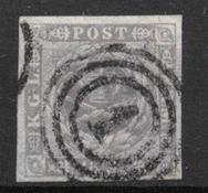 Danemark 1857 - AFA 6 - Oblitéré